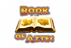 Amatic Book of Aztec logo