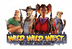 Netent Wild Wild West: The Great Train Heist logo