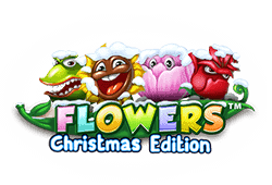 Netent Flowers Christmas Edition logo