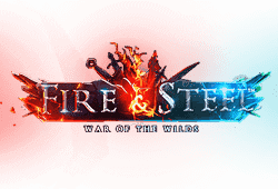 Betsoft Fire and Steel War of the Wilds logo