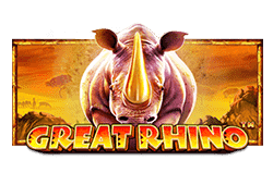 Play Great Rhino bitcoin slot for free