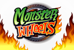 Play Monster Wheels bitcoin slot for free