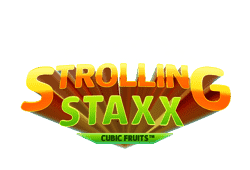 Netent Strolling Staxx: Cubic Fruits logo