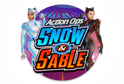 Play Action Ops: Snow and Sable bitcoin slot for free