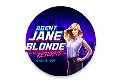 Microgaming Agent Jane Blonde Returns logo