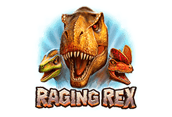 Play'n GO Raging Rex logo
