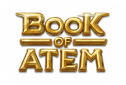 Microgaming Play Book of Atem bitcoin slot logo