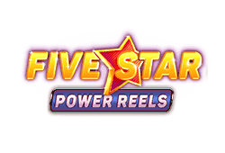 Red tiger gaming Five Star Power Reels logo