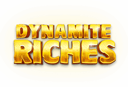 Red tiger gaming - Dynamite Riches slot logo