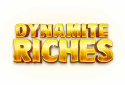 Red tiger gaming Dynamite Riches logo