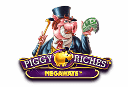 Red tiger gaming Piggy Riches MegaWays logo