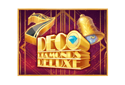 JFTW - Deco Diamonds Deluxe slot logo