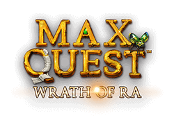 Betsoft - Max Quest: Wrath of Ra slot logo