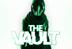 Microgaming - The Vault slot logo