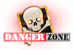 Microgaming - Danger Zone slot logo