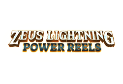 Red tiger gaming Zeus Lightning Power Reels logo